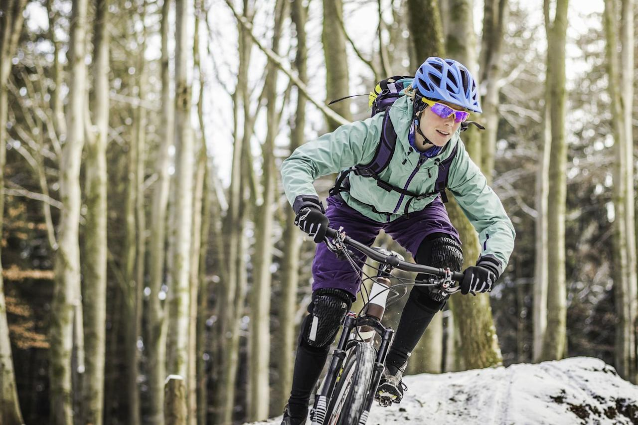"<p>When it comes to clothing, <a href=""http://www.jbvcoaching.com/chrismayhew.asp"" target=""_blank"">Chris Mayhew</a>, an associate coach at JBV Coaching, starts with a <a href=""http://www.bicycling.com/bikes-and-gear-features/fashion/winter-cycling-gear-to-keep-you-warm"">warm base layer</a>.<br><br>""Your body is making all the decisions about what to do based on core temps, so make sure your core is toasty,"" Mayhew says. From there, you can add <a href=""http://www.bicycling.com/bikes-gear/beginners/winter-layering-done-right-how-dress-cycling-cold-weather"">multiple layers</a> that you can put on or take off as you get warmer or the ride gets longer. ""Really, you can get through about anything with a good base layer and jacket.""<br><br>Realize you're going to be cold, at least at first, says Kevin Whited, frequent winter commuter and executive director of Indianapolis-based bike-advocacy group <a href=""https://indycog.org/"" target=""_blank"">IndyCog</a>.<br><br>""You shouldn't be warm when you get outside, ready to ride,"" Whited says. ""If you are, you have too much clothing on. You should always be slightly cold before you get on and begin riding.""</p>"
