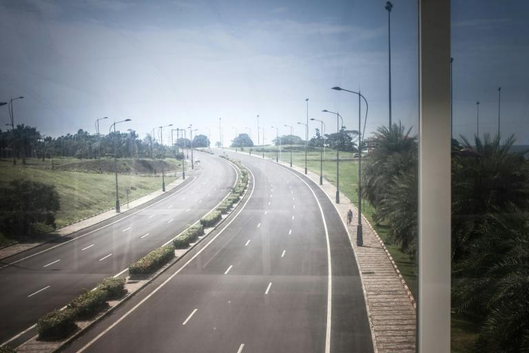 The three-lane highway leading from Malabo to Sipopo was mostly empty of traffic