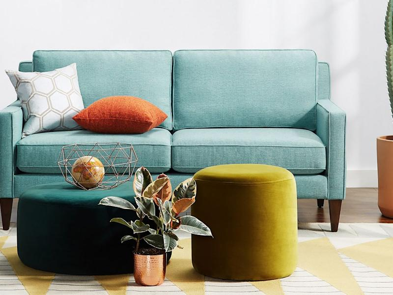 Outstanding The Best Loveseats According To Small Space Dwellers Bralicious Painted Fabric Chair Ideas Braliciousco