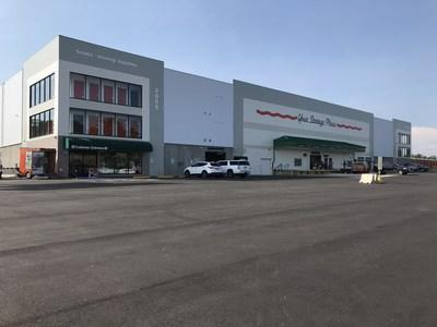 An impressive three-story U-Haul® facility opened on May 17 thanks to the Company's acquisition of 20 acres at 2055 Avalon Parkway.