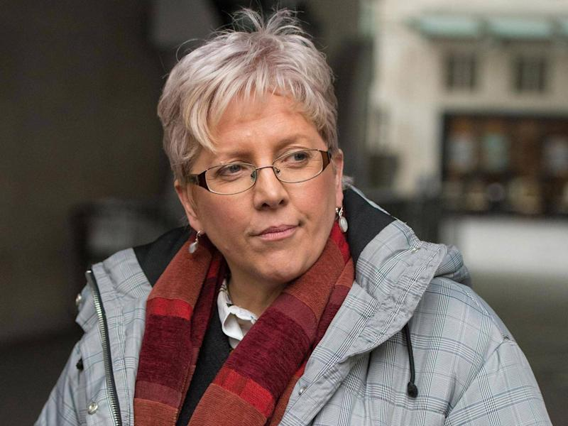 Former BBC China editor Carrie Gracie, who stepped down from the role after complaining about a pay disparity with male colleagues (PA)