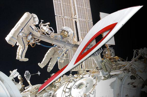 The Olympic torch for the 2014 Winter Olympics in Sochi, Russia will go where no torch has gone before: out on a spacewalk from the International Space Station.