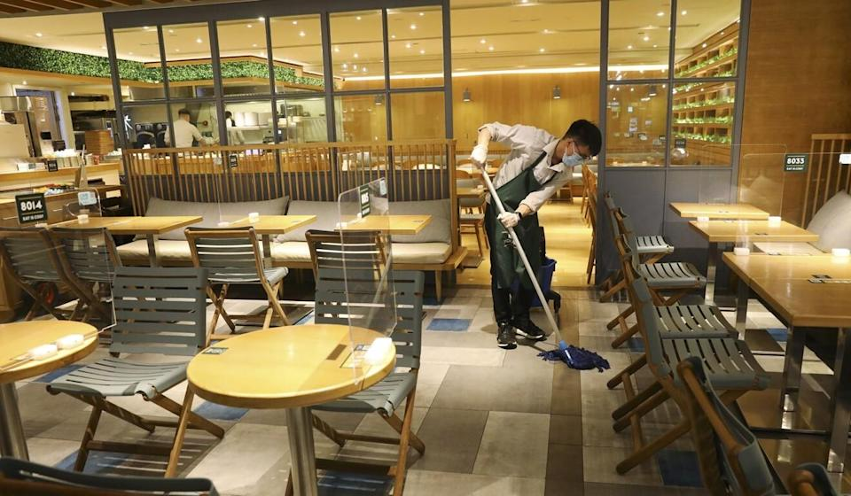 Restaurants in Hong Kong have struggled to simply survive during the coronavirus. Photo: Dickson Lee