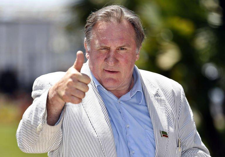 Veteran French actor Gerard Depardieu is pictured in Nice, France on June 6, 2013