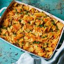 "<p>This creamy French onion dip chicken and rice casserole topped with crispy potato chips is perfect for game day or whenever you want a comforting meal the whole family will love. <a href=""https://www.eatingwell.com/recipe/7884702/french-onion-dip-chicken-rice-casserole/"" rel=""nofollow noopener"" target=""_blank"" data-ylk=""slk:View recipe"" class=""link rapid-noclick-resp""> View recipe </a></p>"
