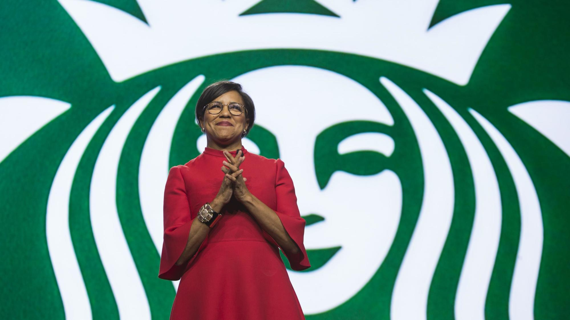 ca.finance.yahoo.com: Starbucks COO Roz Brewer on how the company has adjusted business due to COVID-19