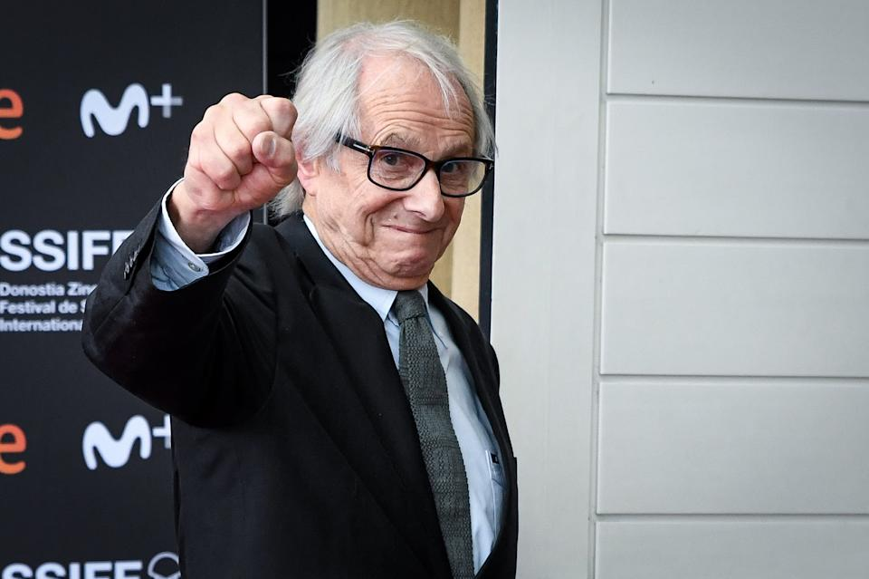 Ken Loach attends 'Sorry We Missed You'  photocall during 67th San Sebastian International Film Festival on September 25, 2019 in San Sebastian, Spain. (Photo by Carlos R. Alvarez/WireImage)