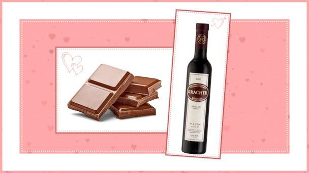 PHOTO: Chocolate and Wine Pairings for Valentines Day: Pair 1 (ABC News Photo Illustration)