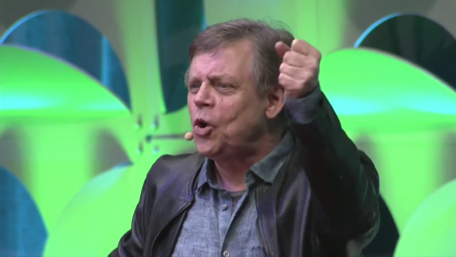 mark hamill star wars celebration 2015