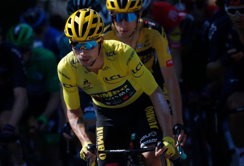 Roglic in prime position but Pogacar ready to go for the throat