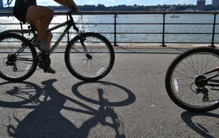 Early week downpours give way to stunning cycling weather