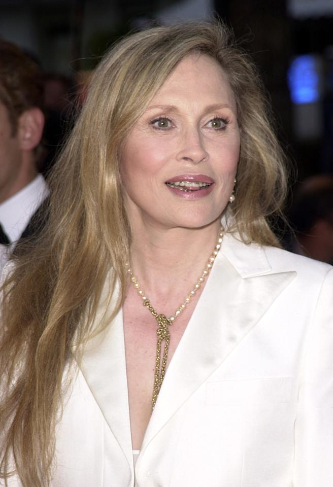 "Faye Dunaway during Cannes 2002 - ""The Pianist"" Premiere at Palais des Festivals in Cannes, France. (Photo by Tony Barson/WireImage)"