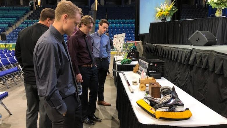 Memorial for Humboldt Broncos player Evan Thomas to be held Monday afternoon
