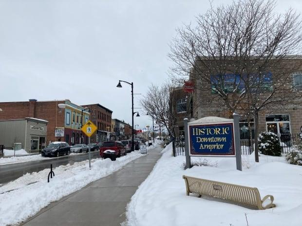 The town of Arnprior, Ont., could be facing tougher COVID-19 restrictions as the number of cases has gone up significantly in recent days. (Remi Authier/Radio Canada - image credit)