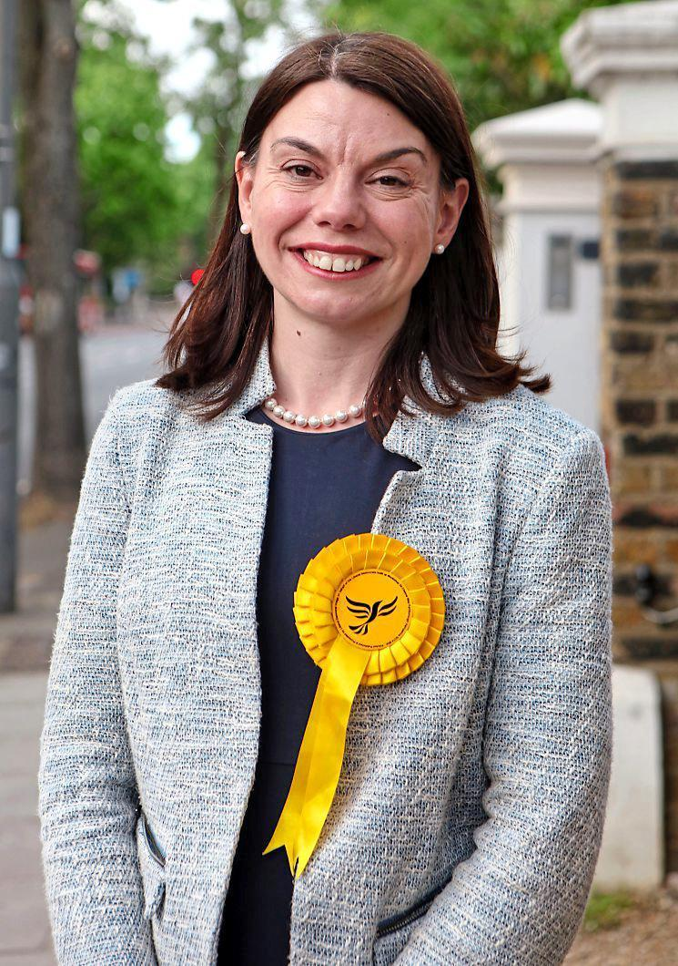 Sarah Olney, the Liberal Democrat candidate for the Richmond Park and North Kingston constituency