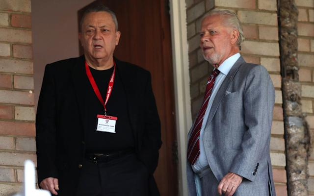 David Sullivan andDavid Gold were caught up in an extraordinary war of words in the summer - PA