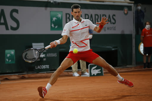 French Open glance: No. 1 Djokovic faces Berankis in 2nd Rd