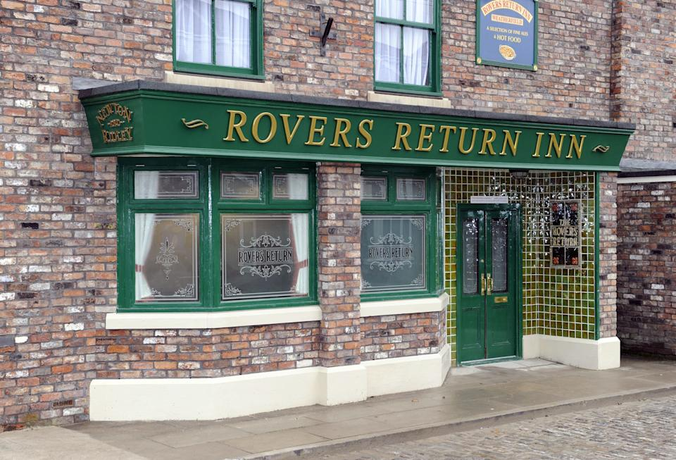 Coronation Street's iconic Rovers Return pub (Photo: Mcpix Ltd/Shutterstock)
