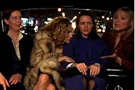 "<p>It was creator Darren Star's favorite and one of the most significant in setting the tone for the series. Dubbed the ""up the butt"" scene, in episode four of the first season Carrie, Charlotte, Miranda, and Samantha talk about the pros and cons of having anal sex. ""When I went to talk to Chris Albrecht [then president of HBO programming] about what we were doing, I mentioned this scene—and for me it was like a litmus [test] of how he was going to react and what their attitude would be toward the show,"" Star told <a href=""http://www.etonline.com/tv/160691_sex_and_the_city_creator_darren_star_up_the_butt_scene"" rel=""nofollow noopener"" target=""_blank"" data-ylk=""slk:Entertainment Tonight"" class=""link rapid-noclick-resp"">Entertainment Tonight</a>. </p><p>""I thought, 'OK, I'm going to tell him the scene where Charlotte meets a guy who wants her to have anal sex and she freaks out and talks to her friends about it and either he's going to think it's really funny or throw me out of the room.'"" </p>"