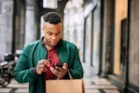 "<p>The secret to savings may be as easy as pulling out your phone thanks to apps designed to find discounts. <a href=""https://shopsavvy.com/"" rel=""nofollow noopener"" target=""_blank"" data-ylk=""slk:ShopSavvy"" class=""link rapid-noclick-resp"">ShopSavvy</a> lets users scan the barcode of an item, then reports back on the best prices for it both online and locally. For holiday food shopping, <a href=""https://www.coupons.com/lp/apps"" rel=""nofollow noopener"" target=""_blank"" data-ylk=""slk:Coupons.com"" class=""link rapid-noclick-resp"">Coupons.com</a> organizes free digital coupons from your local grocery stores and lets you upload paper ones (for some stores, you can also upload your paper receipt and receive cash back to your Paypal account). Before you make a purchase, check <a href=""https://apps.apple.com/us/app/retailmenot-coupons-savings/id521207075"" rel=""nofollow noopener"" target=""_blank"" data-ylk=""slk:Retail Me Not"" class=""link rapid-noclick-resp"">Retail Me Not</a>, which provides access to discount codes, coupons, and cash back offers for clothes, tech, restaurants, and more.</p>"
