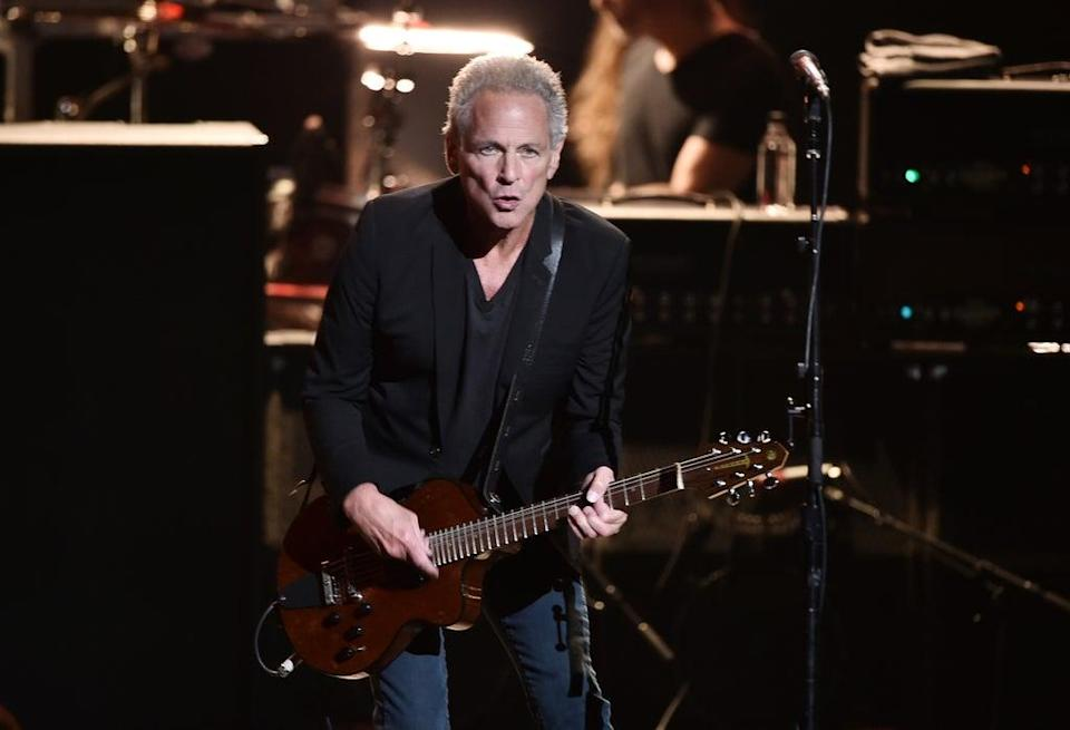 Back with a bang: Buckingham's seventh studio solo album is a strong offering  (Getty)