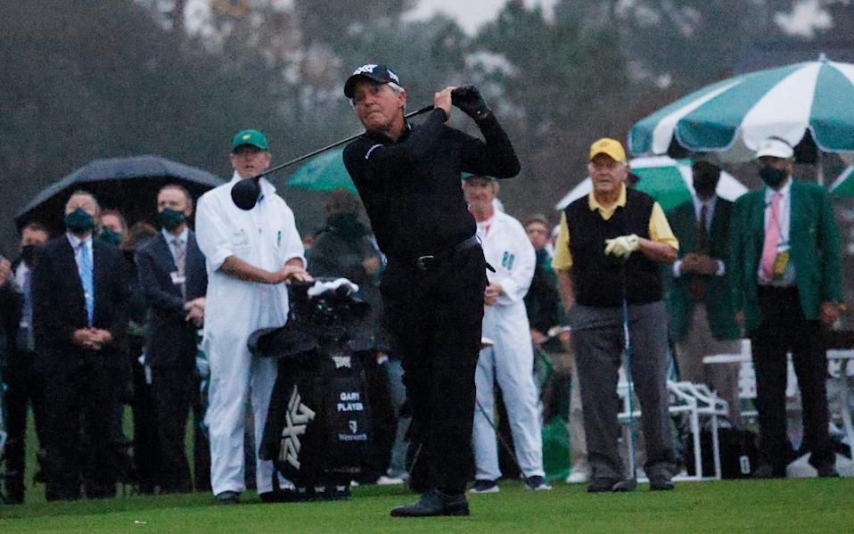 Gary Player -Jack Nicklaus and Gary Player demand action to curb striking distance at Augusta - REUTERS