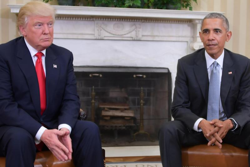 """Extraordinary claims: Donald Trump accused Barack Obama of having his """"wires tapped"""" before he won the election: AFP/Getty Images"""
