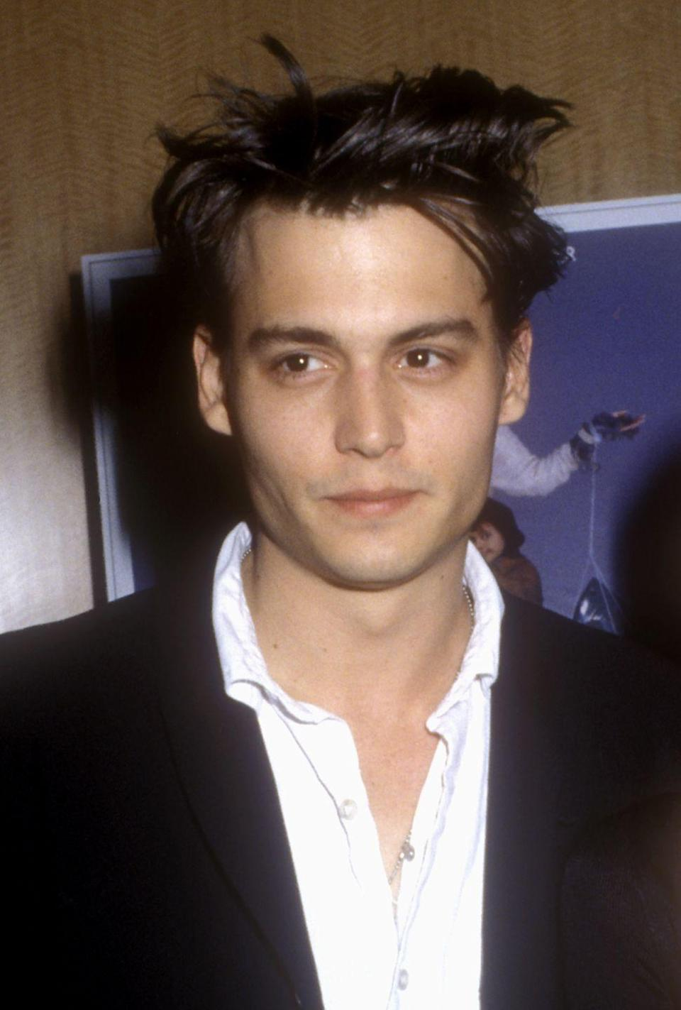 <p>With <em>Edward Scissorhands</em>, <em>What's Eating Gilbert Grape</em>, and <em>Fear and Loathing in Las Vegas </em>all coming out in the 1990s, you can bet that Johnny was a box-office darling who stole the hearts of moviegoers. (And don't even get me started on that gorgeous face.) </p>
