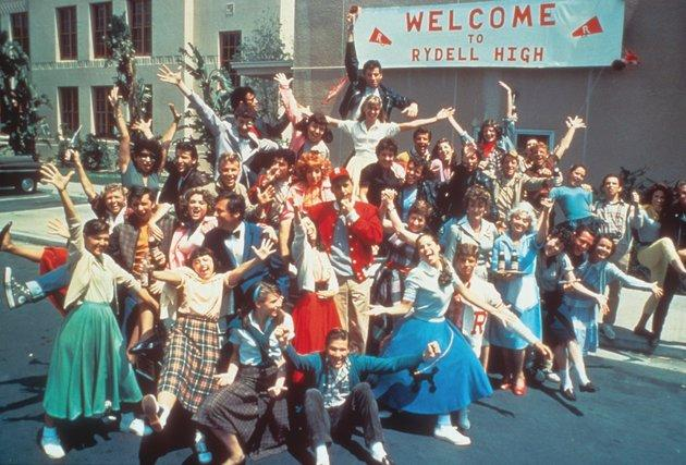 'Grease' used the same school to film in back in 1978
