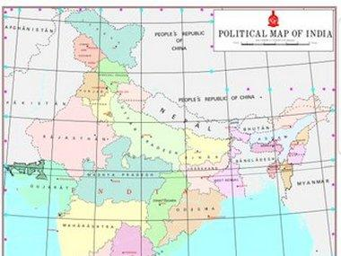 Jammu and Kashmir, Ladakh shown as separate Union Territories in new map of India; country now has 28 states, 9 UTs