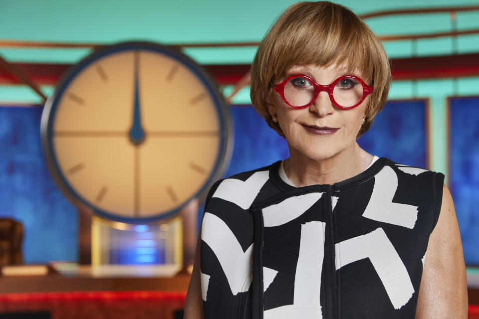 Host Anne Robinson moved on without commenting on the offensive word. (Channel 4)