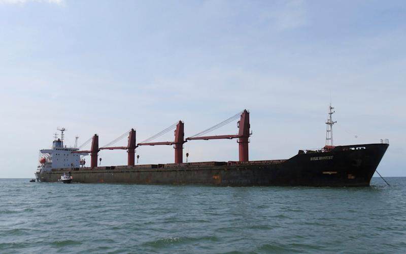 North Korean cargo ship Wise Honest has been seized by the US - U.S. Justice Dept.