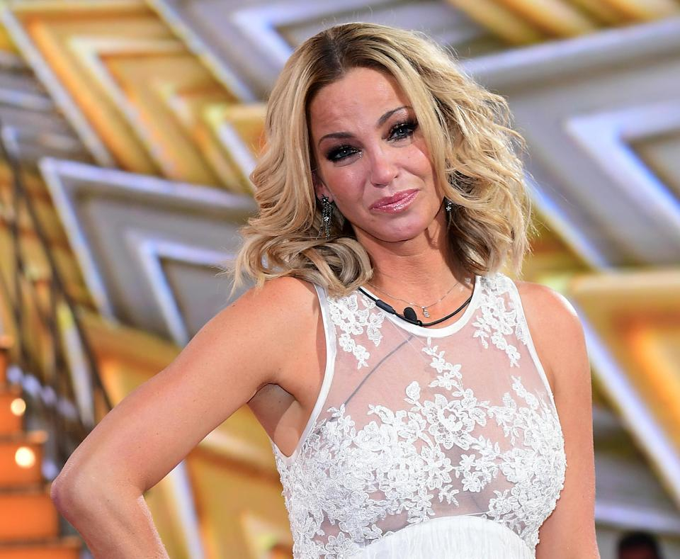 Sarah Harding reacts to winning during the live final of Celebrity Big Brother, at Elstree Studios in Borehamwood, Hertfordshire.