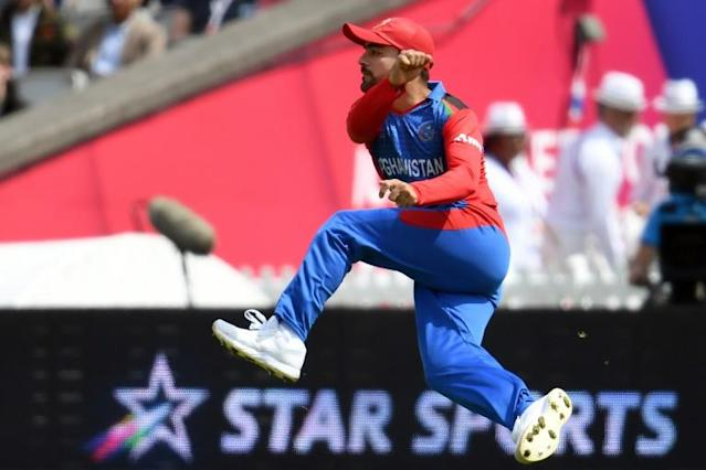 Afghanistan's Rashid Khan was the top pick in The Hundred draft (AFP Photo/Dibyangshu SARKAR)