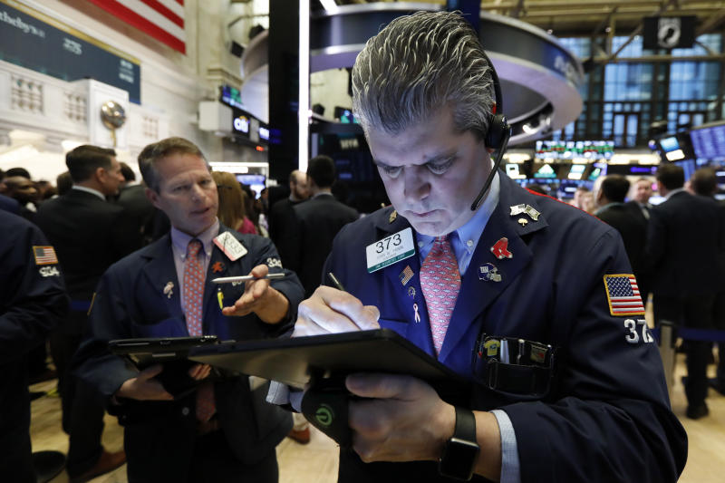 Markets Right Now: Stocks are closing at fresh record highs