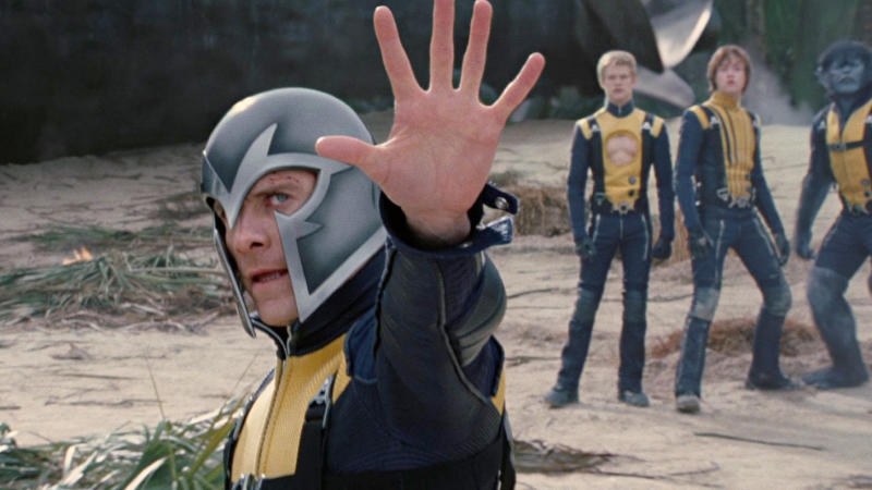 Michael Fassbender as Magneto in 'X-Men: First Class'. (Credit: Fox/Marvel/Disney)