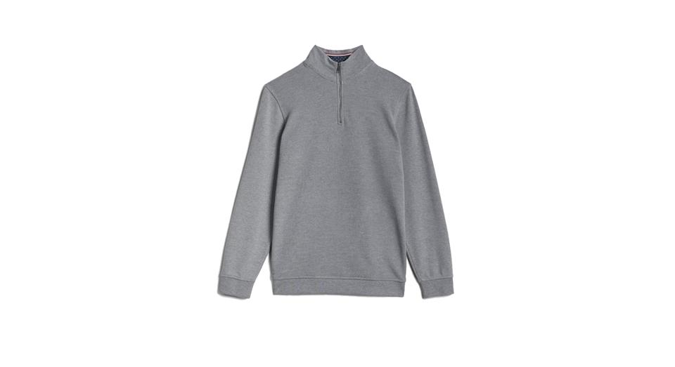 Rebal funnel neck jumper