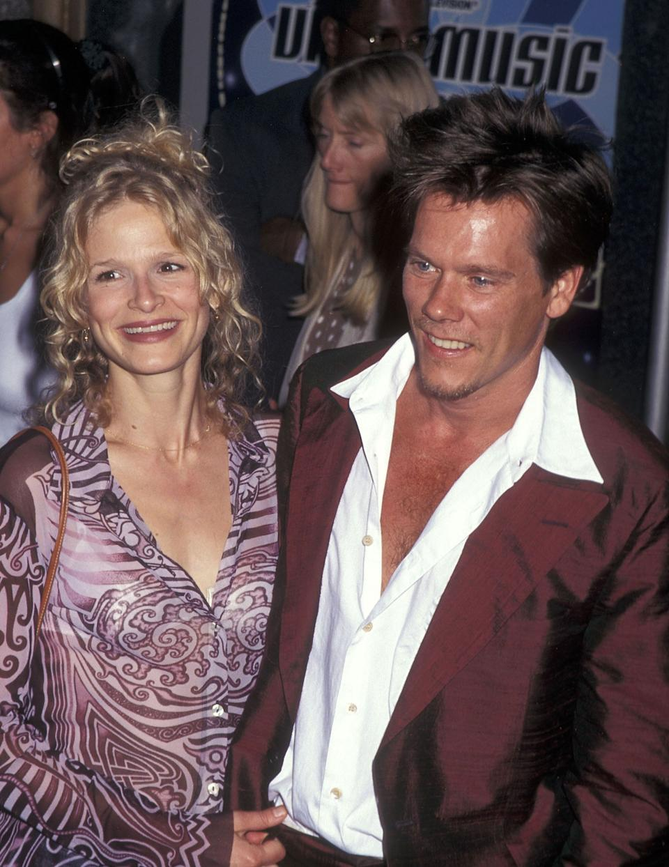 Sedgwick and Bacon at the MTV Video Music Awards at Radio City Music Hall in New York City.
