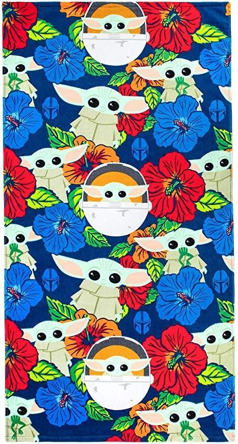 <p>We can't deny that the <span>Star Wars The Mandalorian Tropical Child Beach Towel</span> ($25) is adorable!</p>