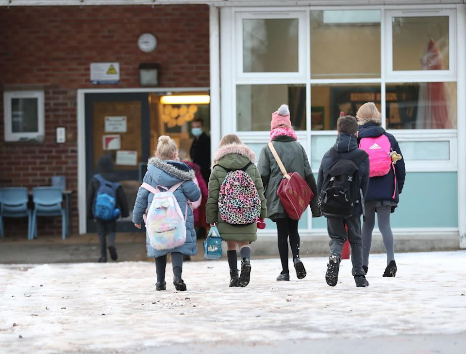 <p>'Research has shown that emotional wellbeing is fundamental for academic attainment'</p> (PA)