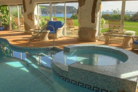 The indoor pool at The Nare (The Nare)