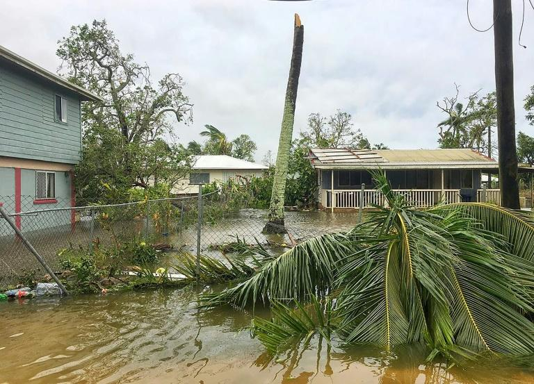Severe Cyclone Gita unleashed 230 kmh (142 mph) winds on Tonga's most populous island, tearing roofs off buildings, downing powerlines and causing extensive flooding