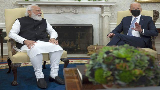 """The prime minister said that trade would continue to play a major role between the two countries. Modi also invoked Mahatma Gandhi during the talks with Biden. """"President Joe Biden mentioned Gandhi Ji's Jayanti. Gandhi Ji spoke about Trusteeship, a concept which is very important for our planet in the times to come."""" Modi also thanked Biden for the warm welcome he had received at the White House."""