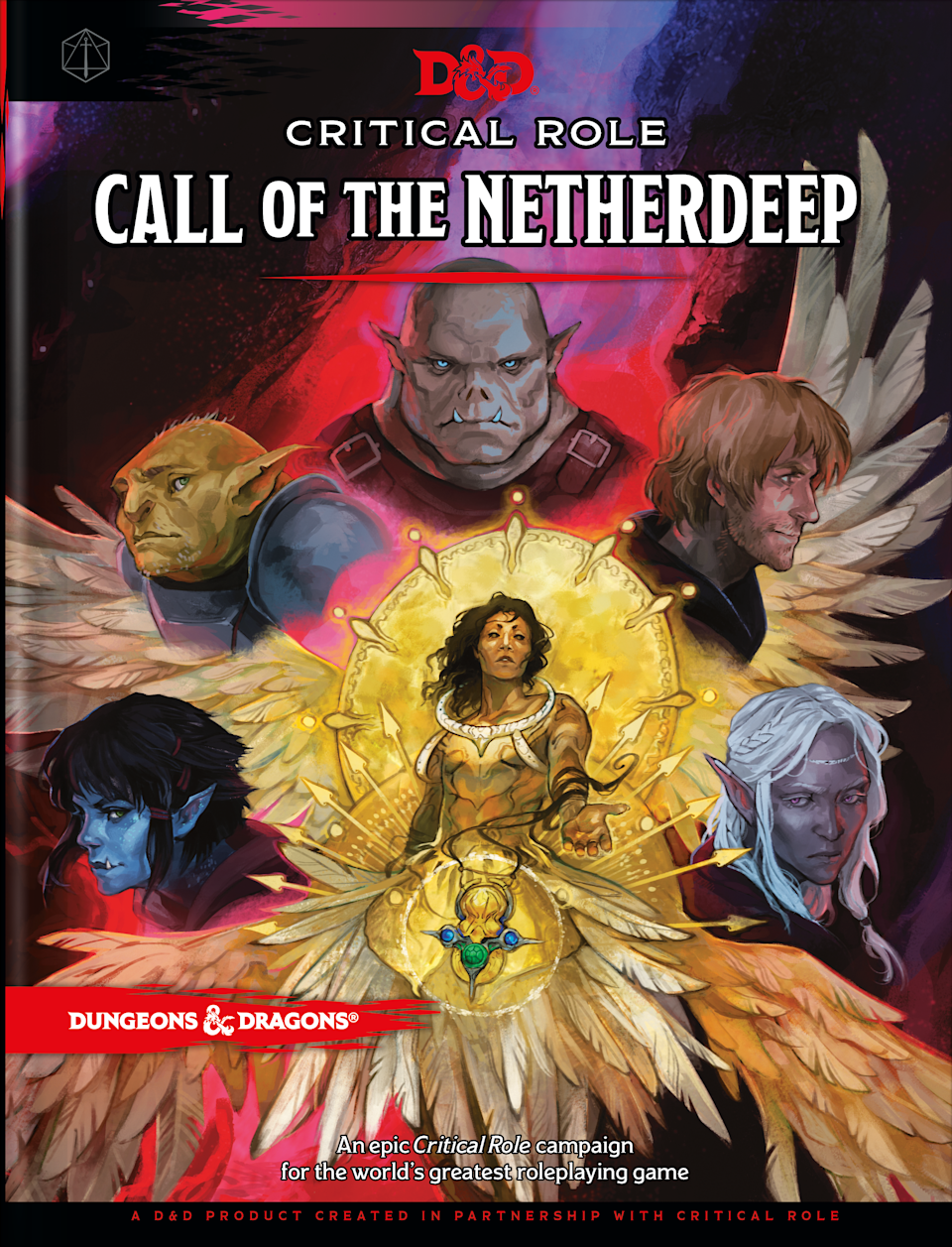 Wizards of the Coast - D&D Crtical Role - Call of the Netherdeep - Cover