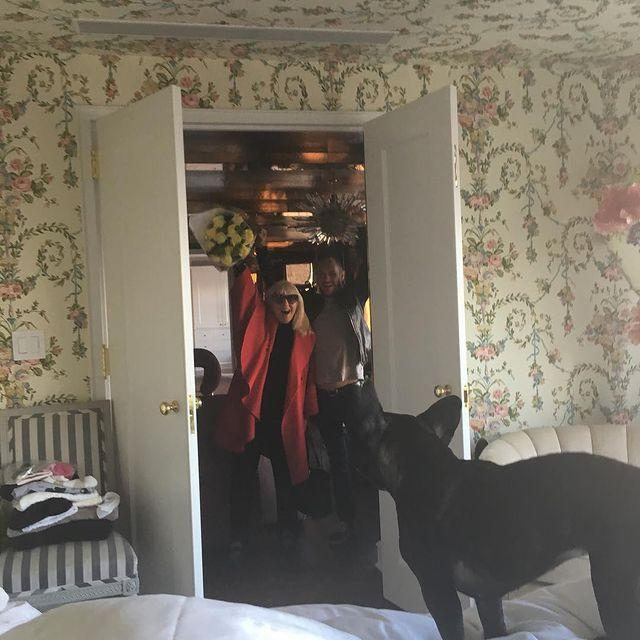 <p>Asia was there when mom got a big phone call in 2015 about her Golden Globe nomination for <em>American Horror Story.</em></p>