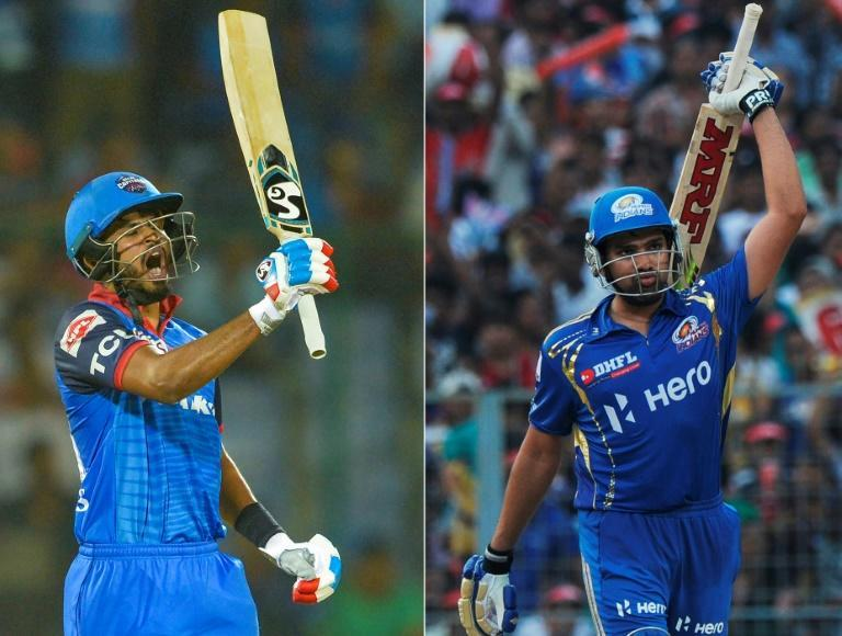 It's Delhi Capitals' Shreyas Iyer (left) against Mumbai Indians' Rohit Sharma in Tuesday's IPL final in Dubai