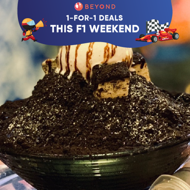 1-for-1 Deals this F1 Weekend