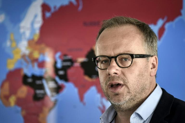 Secretary general of  Reporters without borders (RSF) head Christophe Deloire warns press freedom is threatened like never before