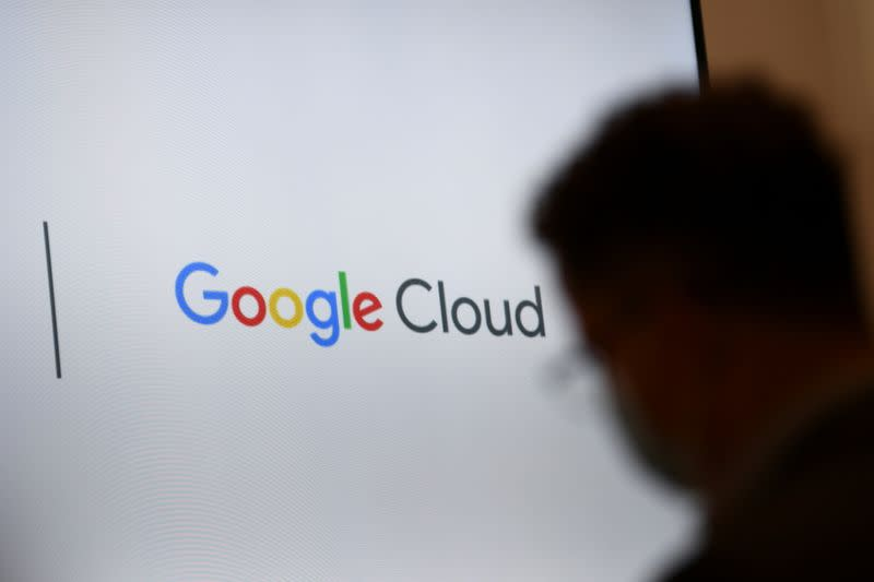 FILE PHOTO: Google presents detailed investment plan for Germany in Berlin