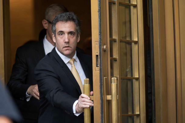 PHOTO: Michael Cohen leaves Federal court, in New York, Aug. 21, 2018. (Mary Altaffer/AP, FILE)